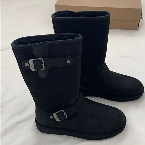 3742c1effc8 Brand new authentic UGG Sutter Black Boots NWT